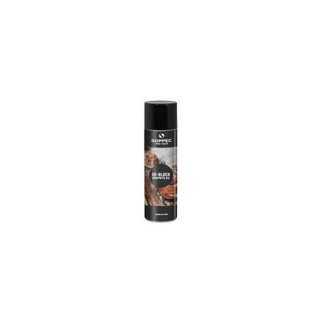 Grafitolja smörjande Soppec De-Block Oil 500 ml